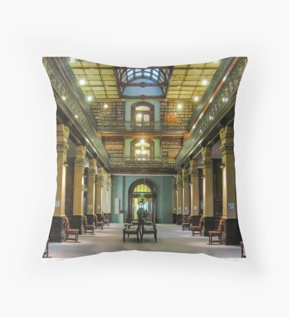 Adelaide Library - Mortlock Wing Throw Pillow