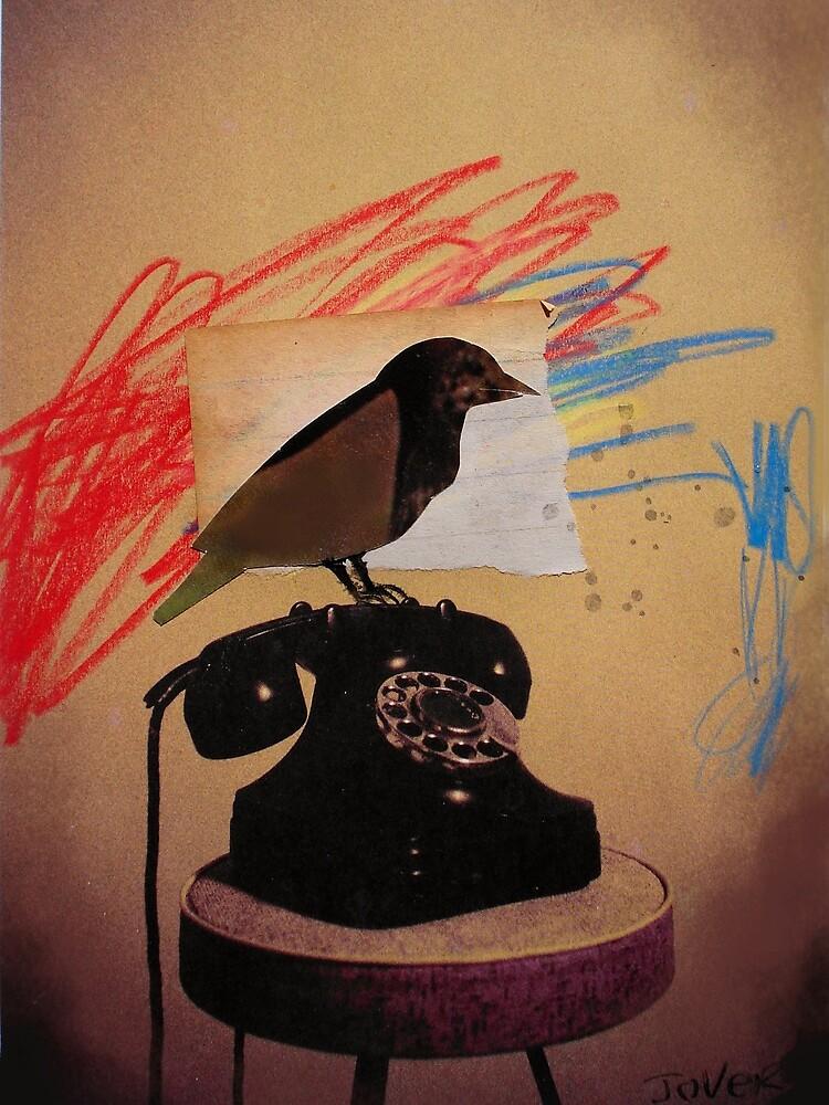 bird phone by Loui  Jover