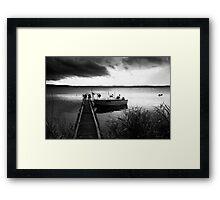 Promise of dawn - Gippsland Victoria Framed Print