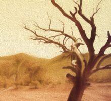 Desert Tree Sticker
