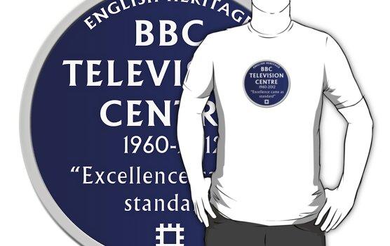 Blue Plaque for BBC Television Centre by unloveablesteve