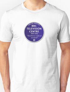 Blue Plaque for BBC Television Centre T-Shirt