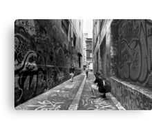 Making memories - Melbourne Lane ways Metal Print