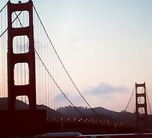 Golden Gate at Sunset by nojams