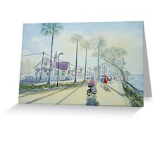 Sandgate Promenade Greeting Card