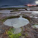 """Dawn at """"Garth's"""" Beach by Kylie  Sheahen"""