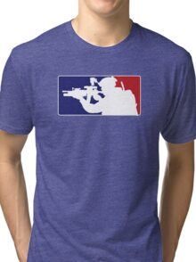 Major League fill in the blank... Tri-blend T-Shirt