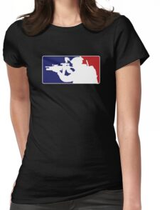 Major League fill in the blank... Womens Fitted T-Shirt