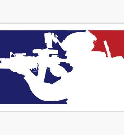 Major League fill in the blank... Sticker