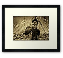 """"""" Watching History Unfold """" Framed Print"""