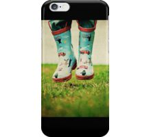 Boots made for adventuring iPhone Case/Skin