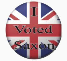 I voted Saxon button by gpolice