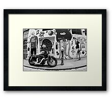 Laneway hardware - Melbourne, Australia Framed Print
