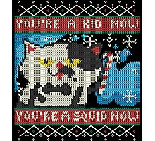 Knitted Ugly Sweater Splatoon Judd the Cat from Nintendo Photographic Print