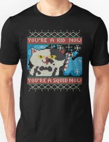 Knitted Ugly Sweater Splatoon Cat from Nintendo T-Shirt