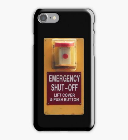 Shiny Candylike Button iPhone Case/Skin