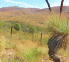 Grass Tree Sticker