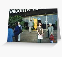 eminem special - welcome to israel matrix  Greeting Card