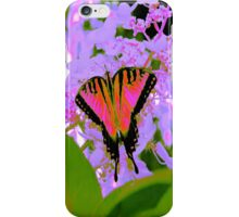 Pink Butterfly POP iPhone Case/Skin