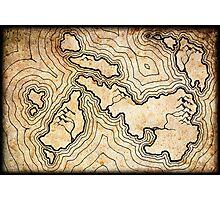 Fantasy Map Photographic Print