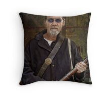Do you feel lucky? Throw Pillow