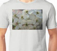 Purpleleaf Sand Cherry Blossoms Unisex T-Shirt