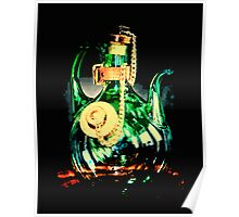 Reflective Glass Decanter  Poster