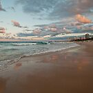 Surfers Paradise at Dusk by Barbara Burkhardt