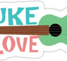 Uke Love Sticker