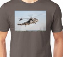 Sea King and Apache Helicopters Unisex T-Shirt
