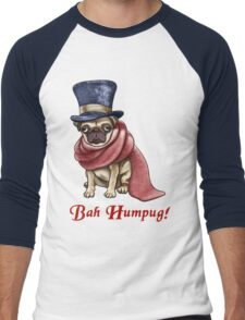 Bah Humpug! Men's Baseball ¾ T-Shirt
