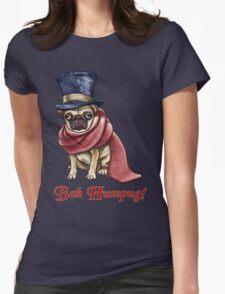 Bah Humpug! Womens Fitted T-Shirt