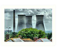 The Power Station Art Print