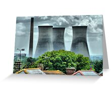 The Power Station Greeting Card