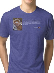 Caffeinated Poetry - Bitter bliss Tri-blend T-Shirt