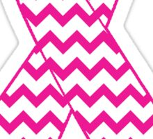 Breast Cancer Ribbon Sticker