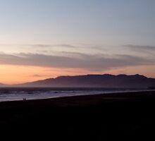 Ocean Beach At Sunset by nojams