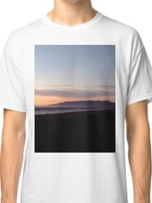 Ocean Beach At Sunset Classic T-Shirt