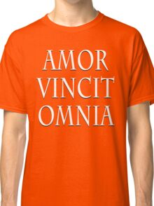 LOVE CONQUERS ALL Classic T-Shirt
