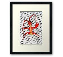 Lobster Girl  Framed Print