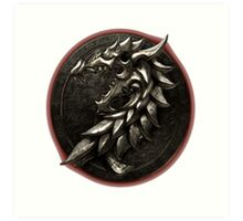 The Elder Scrolls Online-Ebonheart Pact Art Print