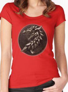 The Elder Scrolls Online-Ebonheart Pact Women's Fitted Scoop T-Shirt