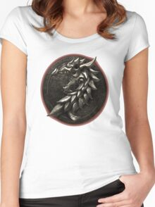 The Elder Scrolls Online-Ebonheart Pact Women's Fitted Scoop T-Shirt