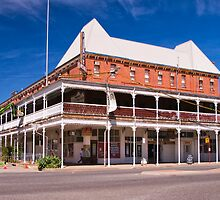 The Palace Hotel, Broken Hill by Ian Fegent