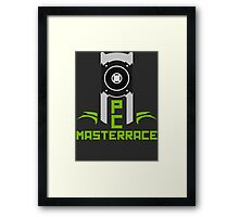 PC MasterRace [Nvidia Titan] Framed Print