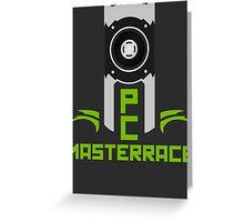 PC MasterRace [Nvidia Titan] Greeting Card