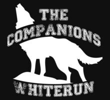 The companions of Whiterun - White One Piece - Long Sleeve
