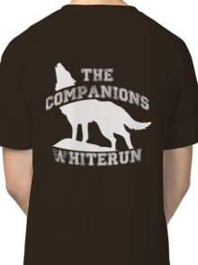 The companions of Whiterun - White Classic T-Shirt