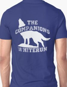 The companions of Whiterun - White Unisex T-Shirt