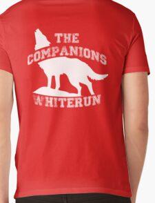 The companions of Whiterun - White Mens V-Neck T-Shirt